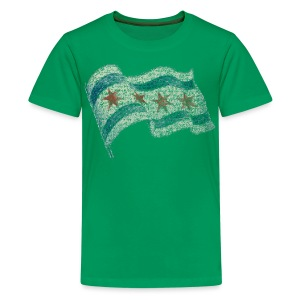 Chicago Flag Children's T-Shirt - Kids' Premium T-Shirt