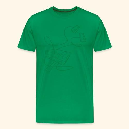 Console1 - Men's Premium T-Shirt