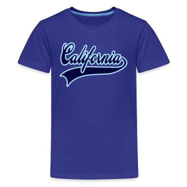 california navy Kids' Shirts
