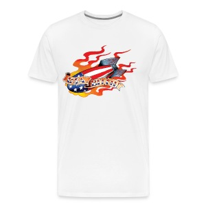 USA, Bitch! - Men's Premium T-Shirt