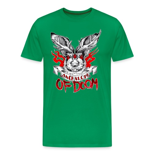 Jackalope of Doom - Men's Premium T-Shirt
