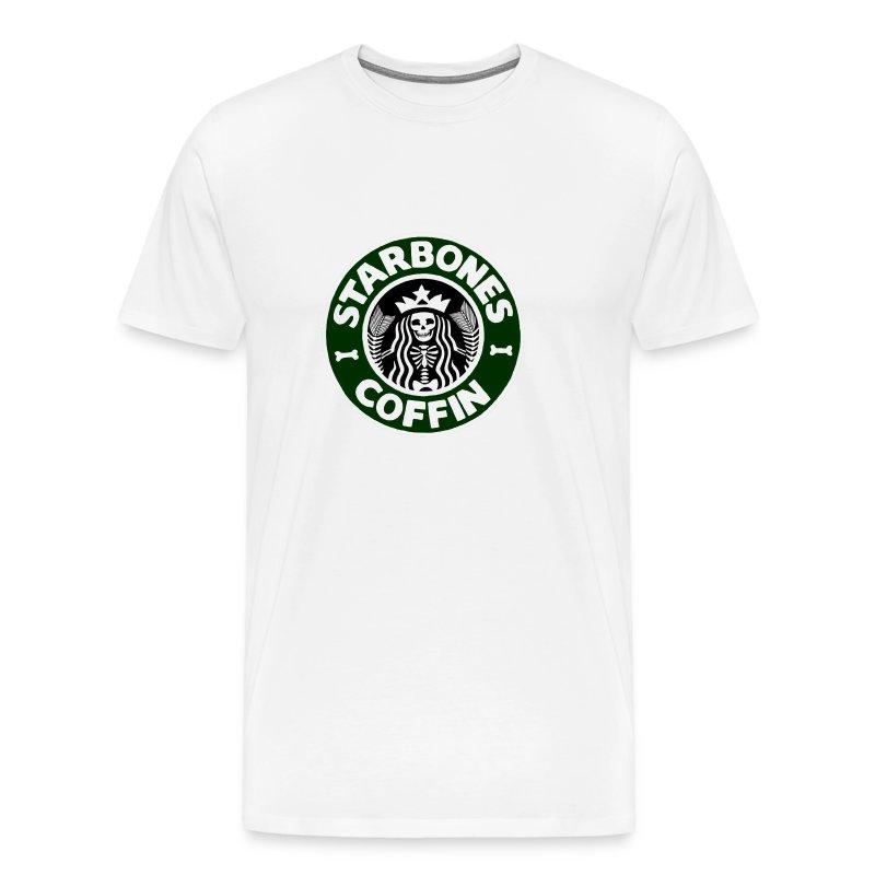Starbones Coffin - Men's Premium T-Shirt