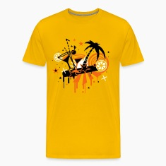 Yellow cocktail_bar T-Shirts