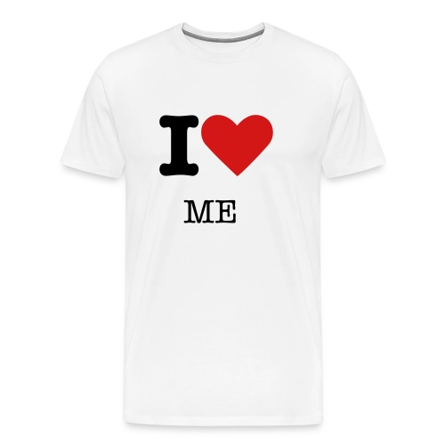 I ♥ (YOU FILL IN THE BLANK!) - Men's Premium T-Shirt