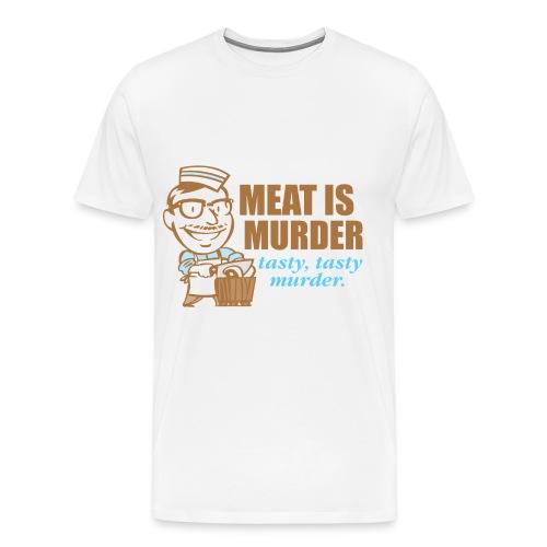 Tweet Facebook Women V-neck - Men's Premium T-Shirt