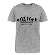 T-Shirts ~ Men's Premium T-Shirt ~ Wrong evolution
