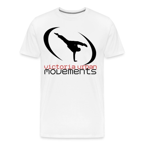 VUM Tricking White Tee (Mens) - Men's Premium T-Shirt
