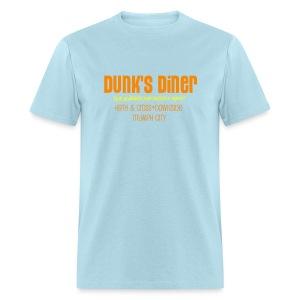Dunk's Men's Heavyweight T orange print  - Men's T-Shirt
