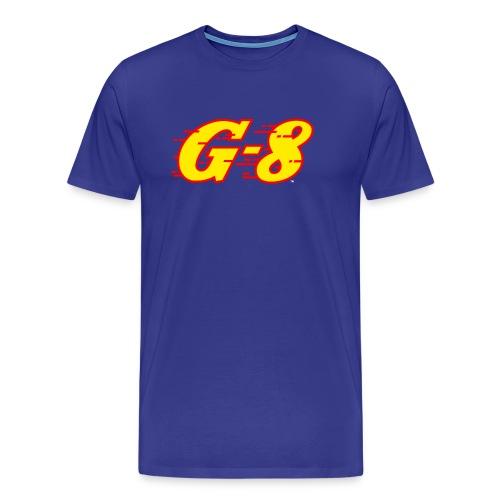 G-8 Yellow Logo Tee (3XL) - Men's Premium T-Shirt