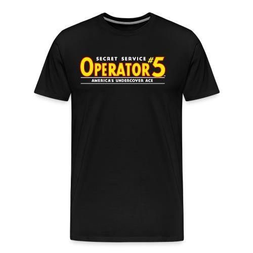 Operator 5 Logo 1936 Tee (3XL) - Men's Premium T-Shirt