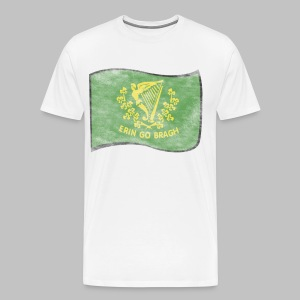 Erin Go Bragh Distressed Men's 3XL XXXL T-Shirt - Men's Premium T-Shirt
