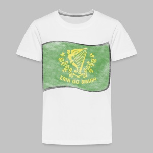 Erin Go Bragh Distressed Toddler T-Shirt - Toddler Premium T-Shirt