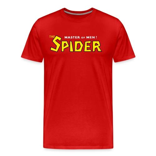 The Spider Logo Red Tee (3XL) - Men's Premium T-Shirt