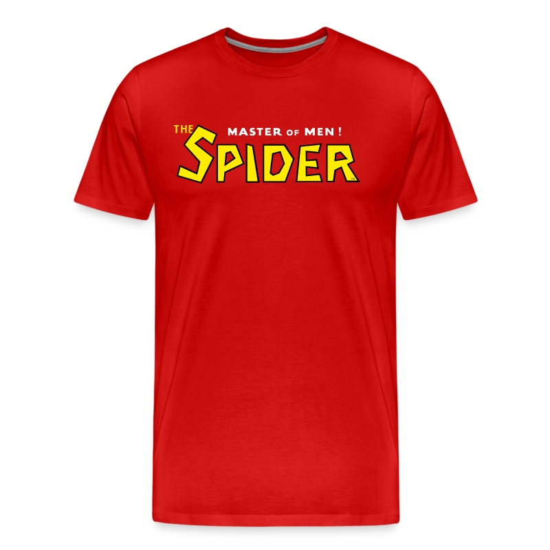 The Spider Logo Red Tee (3XL) - Men's Premium T-Shirt