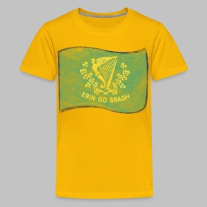 Erin Go Bragh Distressed Children's T-Shirt - Kids' Premium T-Shirt