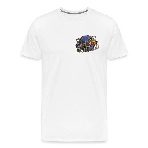 Men's Hvy Weight Tee - Single Logo - Men's Premium T-Shirt