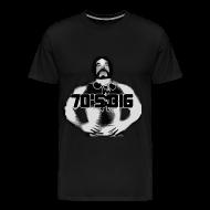 T-Shirts ~ Men's Premium T-Shirt ~ 70's Big Original Black Logo