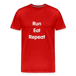 Men's - Run Eat Repeat   - Men's Premium T-Shirt