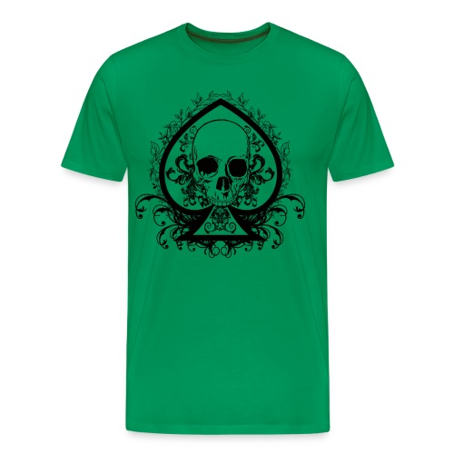 Notrac Poker Green-shirt - Men's Premium T-Shirt