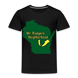 Mr. Rodgers' Neighborhood - Toddler Premium T-Shirt