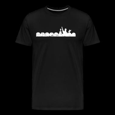 Mystery Science Theater 3000 Vintage Dark Heavyweight T-Shirt