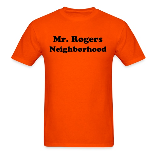 Mr. Rogers Neighborhood - Men's - Men's T-Shirt