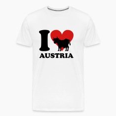 I Love Austria Cow T-Shirts