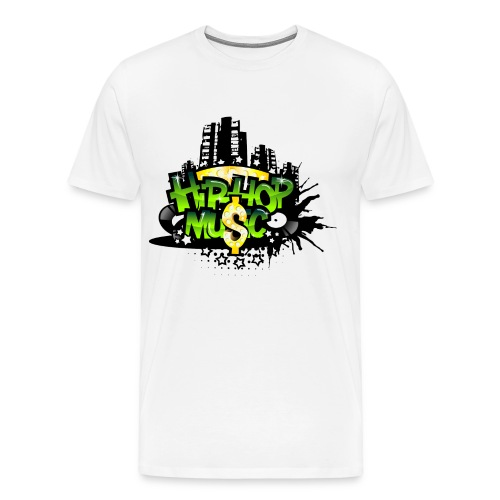Hip Hop Mu$ic - Men's Premium T-Shirt