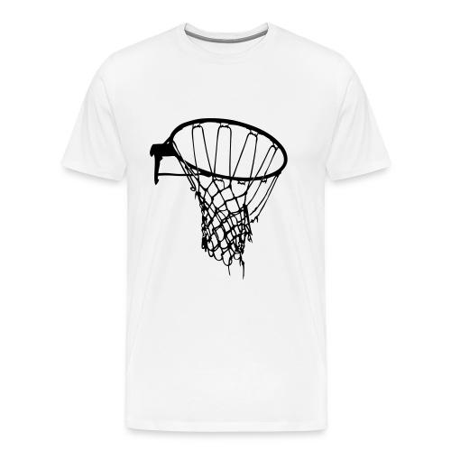 Basketball Hoop Tee - Men's Premium T-Shirt