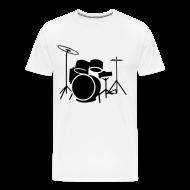 T-Shirts ~ Men's Premium T-Shirt ~ Drummer Tee