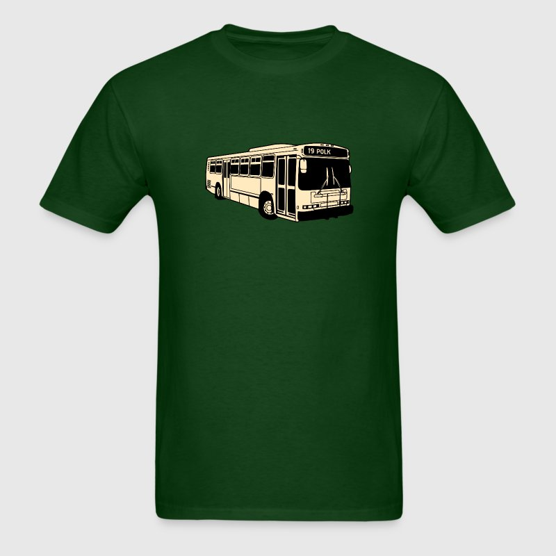 19 Polk Muni Bus T-shirt - Men's T-Shirt
