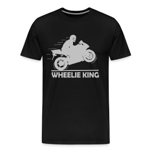 Wheelie King - Men's Premium T-Shirt