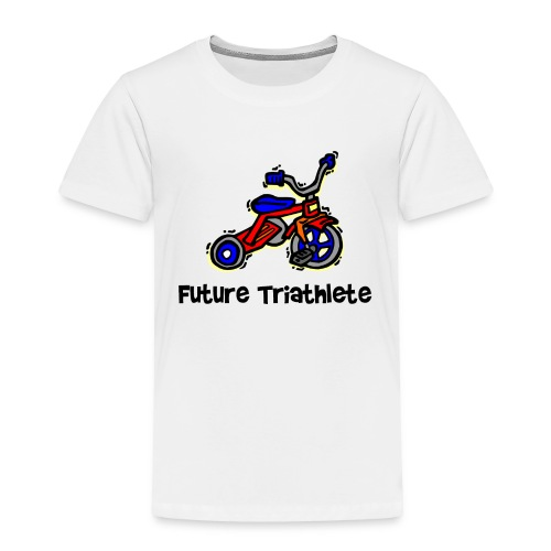 Future Triathlete Tricycle Toddler T-Shirt - Toddler Premium T-Shirt