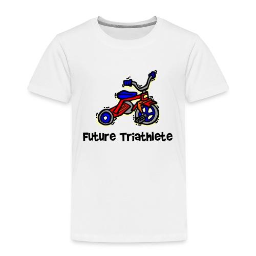 Future Triathlete Tricycle Toddler T-Shirt - Toddler Premium T-Shirt