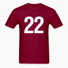 helvetica number 22 T-Shirts