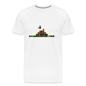 Pixelated Poo - Men's Premium T-Shirt