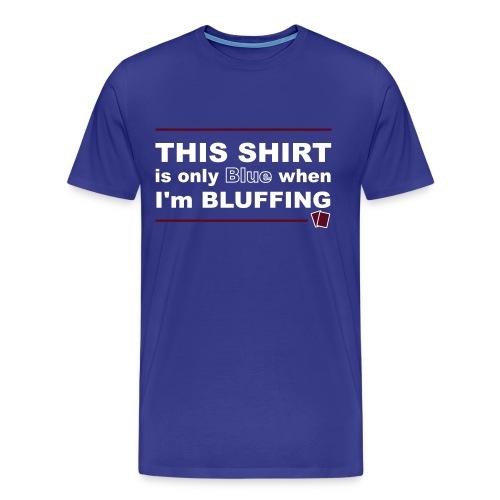 onlyblueshirt - Men's Premium T-Shirt