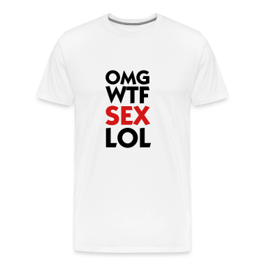 OMG WTF SEX LOL (2c) T-Shirts