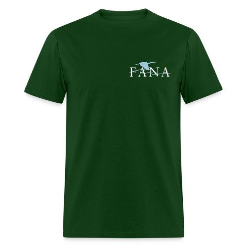 Men's Blue Heron Pocket Design - Men's T-Shirt
