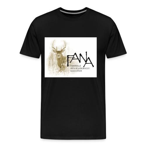 Men's 3XL Deer (front) - Men's Premium T-Shirt