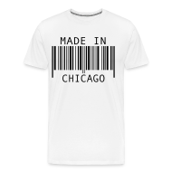 T-Shirts ~ Men's Premium T-Shirt ~ Made in Chicago