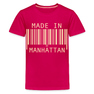 Kids' Shirts ~ Kids' Premium T-Shirt ~ Made in Manhattan