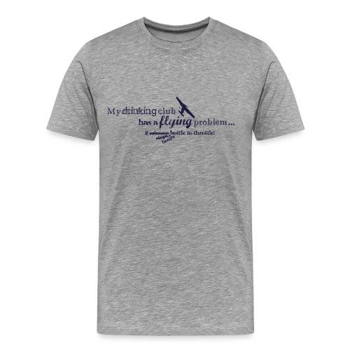 Flying Problem Light - Men's Premium T-Shirt