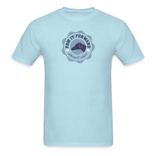 Paw It Forward - (natural ears) - Men's T-Shirt