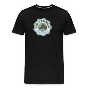 Paw It Forward - (cropped ears) - Men's Premium T-Shirt
