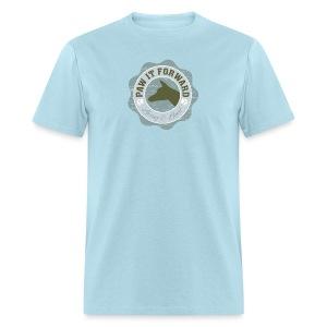 Paw It Forward - (cropped ears) - Men's T-Shirt