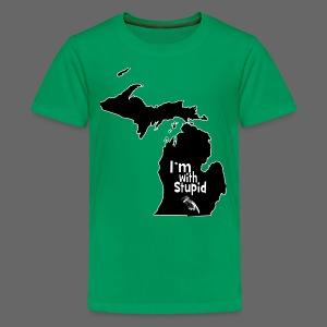 I'm with Stupid Ohio Children's T-Shirt - Kids' Premium T-Shirt