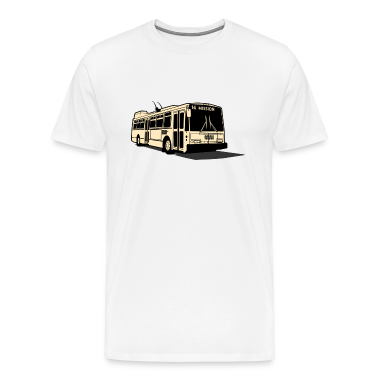 14 Mission Muni Bus T-shirt