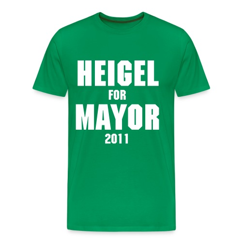 Heigel for Mayor Tee - Men's Premium T-Shirt
