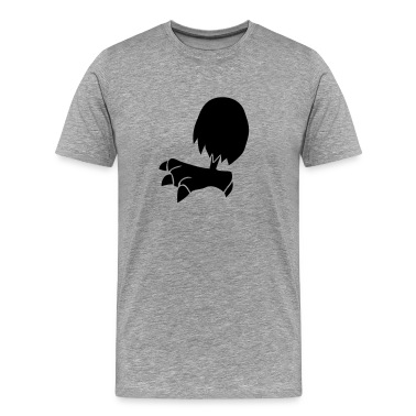 chicken leg single cartoon T-Shirts